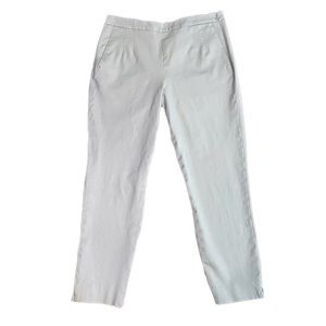 J. Crew High Rise Light Gray Martie Ankle Pant 6